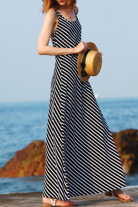 Chicloth Love is like the Wind Maxi Dress-Dresses-Chicloth