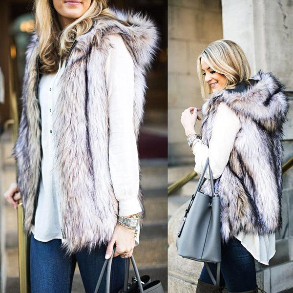 Chicloth Luxury Winter Fur Coat