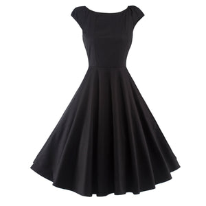 Chicloth Make you Special Simple Little Black Dress-Dresses-Chicloth