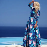 Chicloth My Love Floral Maxi Dress