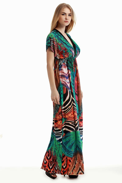 Chicloth No More Plunge Plus Size Maxi Dress