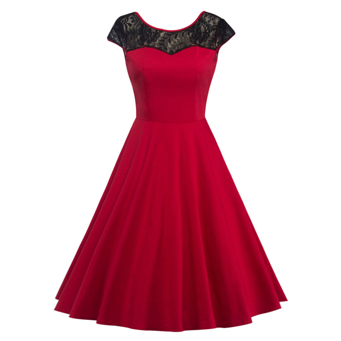 Chicloth Open your Heart Princess Vintage Dress-Dresses-Chicloth