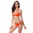 Chicloth Pretty Girl Cross Hipster Bikini Set-swimwear-Chicloth