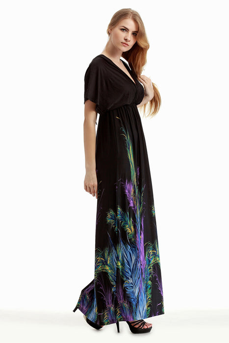 Chicloth San Francisco Feather Plus Size Dress | Chicloth