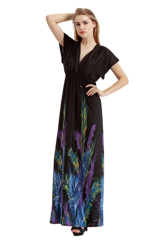 Chicloth San Francisco Feather Plus Size Dress-plus size-Chicloth
