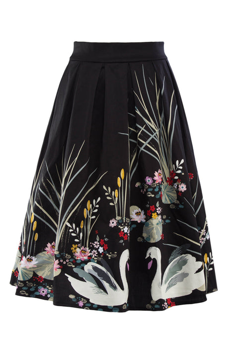Chicloth Something Wonderful Happens Vintage Skirt-Skirt-Chicloth