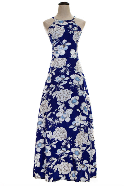Chicloth Somewhere My Love Floral Maxi Dress-Dresses-Chicloth