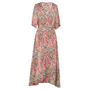 Chicloth Tennessee Waltz Ethnic Maxi Dress
