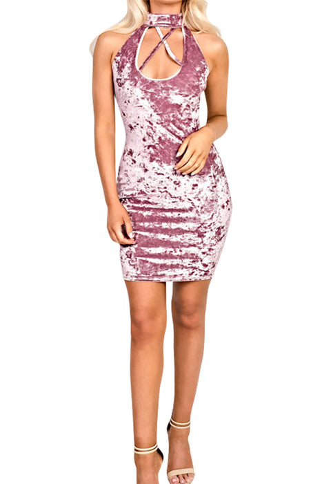 Chicloth Trouble Is a Friend Bodycon Dress-Chicloth