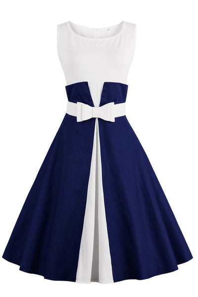 Chicloth One More Time Cute Bow Vintage Dress