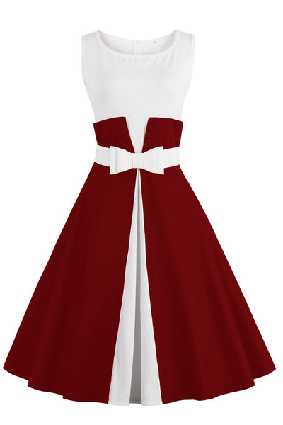 Chicloth One More Time Cute Bow Vintage Dress-Dresses-Chicloth