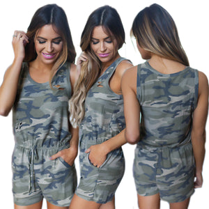 Chicloth  Camouflage One-Piece T-shirt - Chicloth