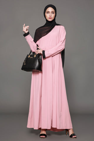 Chicloth Muslim Women Fashion Pink Dress - Chicloth