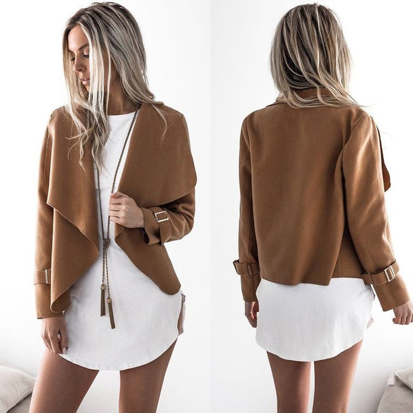 Chicloth  Two Sides Suede Short Coat