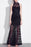 C| Chicloth Women Allover Lace Maxi Dress Lined Sleeveless Open Back Zipper-Chicloth