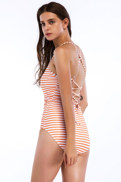 Chicloth New printed swimsuit Hot style one-piece suit.