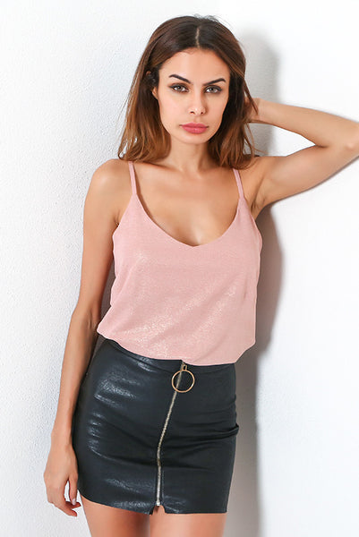 A| Chicloth Latets Fashion Women Clothes Young Ladies Sexy Pink Tank Tops-Chicloth