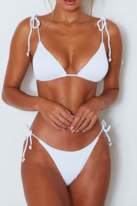 AA| Chicloth Straps Triangle Sexy Women Bikini Sets-Chicloth