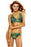 Chicloth Tropical Leopard Vibrant Two Piece Bikini Swimsuit-Swimwear-Chicloth