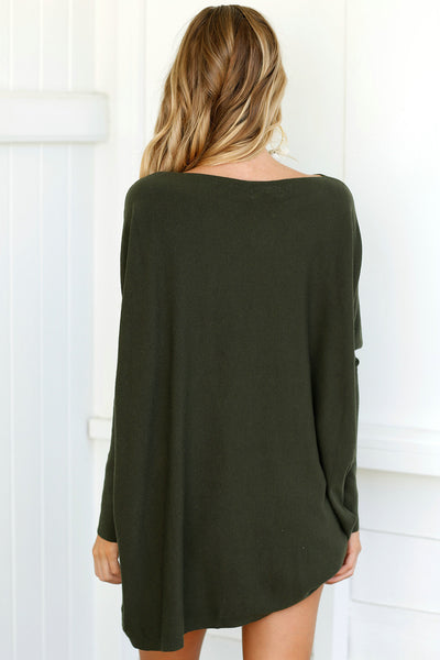 Chicloth Autumn Sweet  Long Sleeve Oversize Sweater - Chicloth