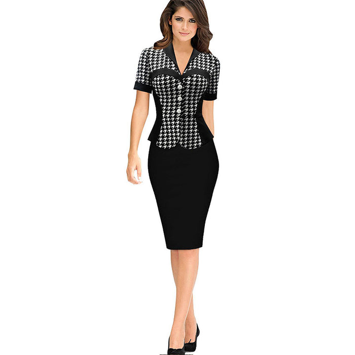 Chicloth Adventure of a Lifetime Work Day Dress-Chicloth