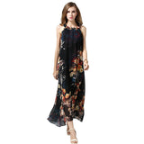 Chicloth Any way High Neck Chiffon Dress