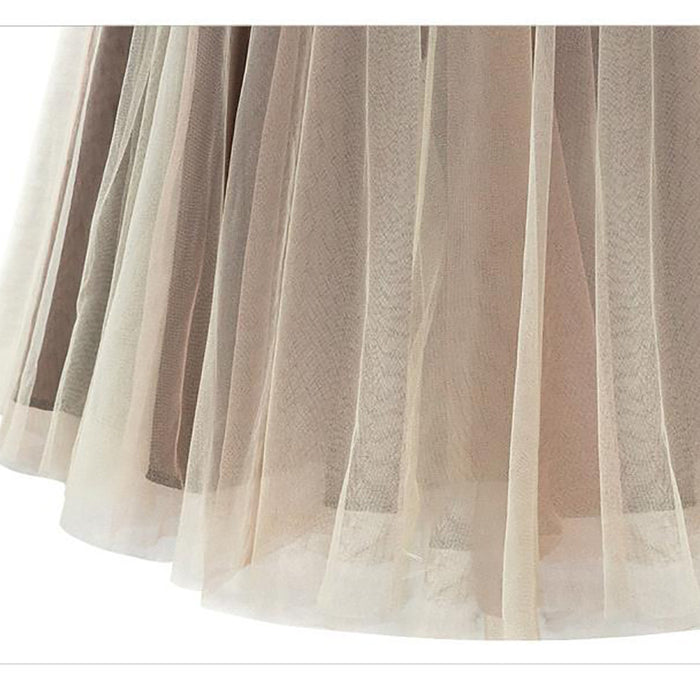 Chicloth Anytime Feel Lonely Tulle Skirt-Chicloth