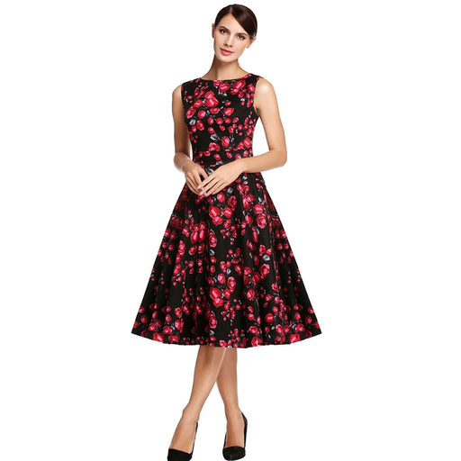 Chicloth Beautiful Day Red Princess Dress-Chicloth