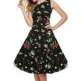 Chicloth Blowing in the Wind Floral Dress
