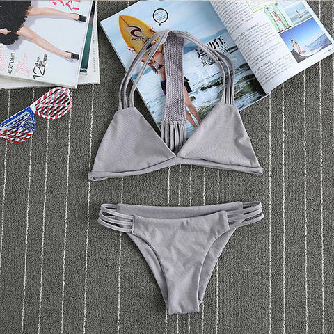 Chicloth Four Strong Winds Triangle Bikini Set