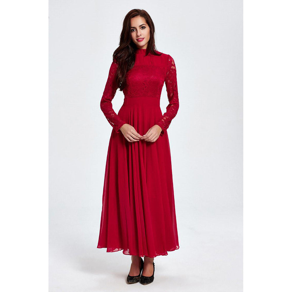 Chicloth God Only Knows Red Dress-Chicloth