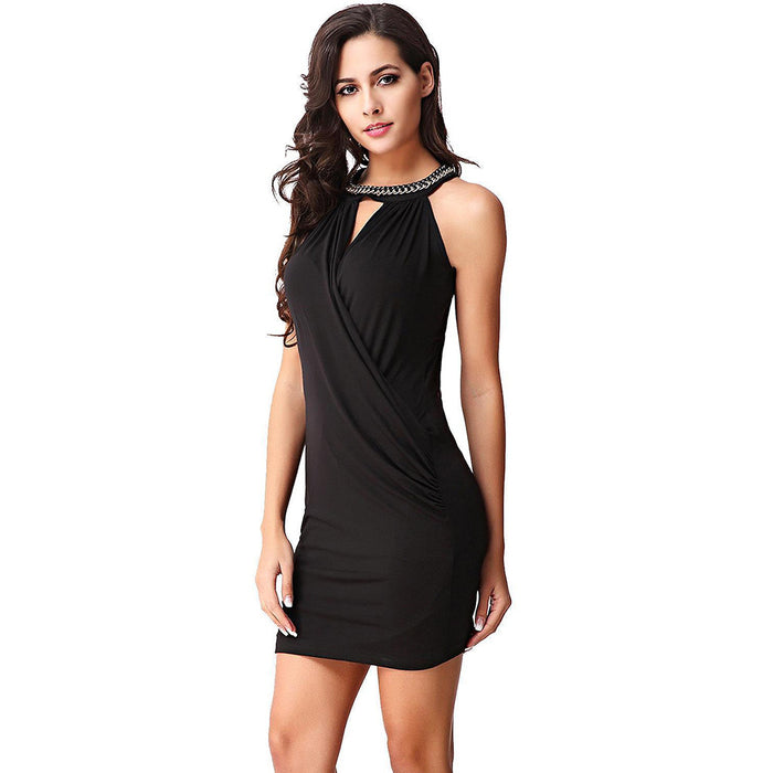 Chicloth If it is Magic Little Black Dress-Chicloth