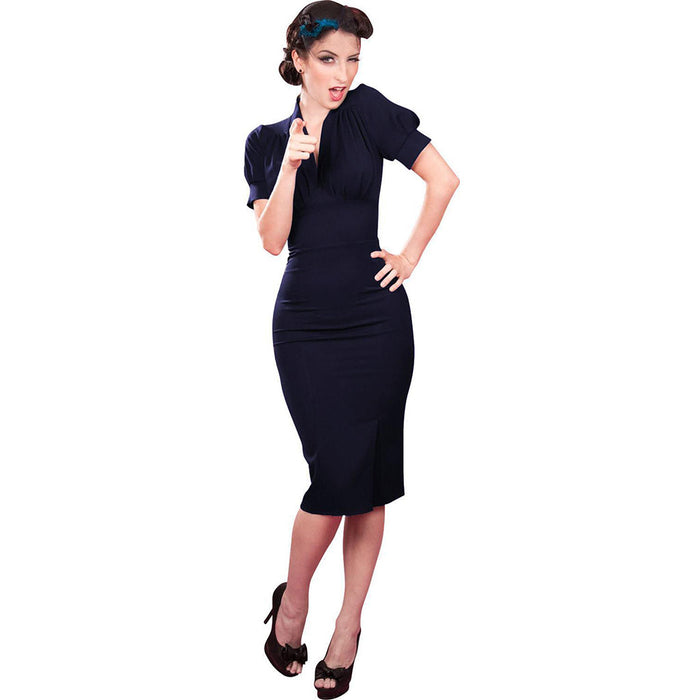Chicloth Nobody Loves me Better Work Dress-Chicloth