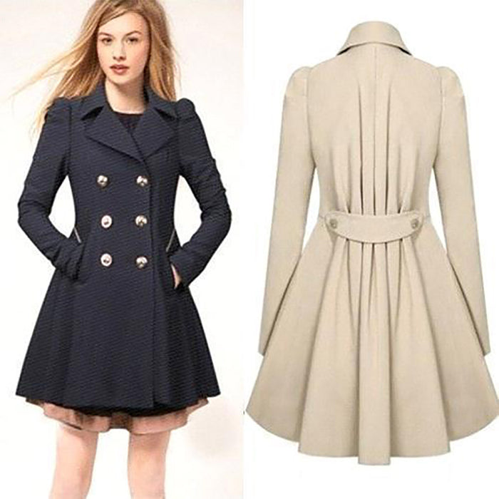 Chicloth Perhaps Love Warm Botton Coat-Chicloth