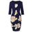 Chicloth Release Me Printed Bodycon Dress-Chicloth
