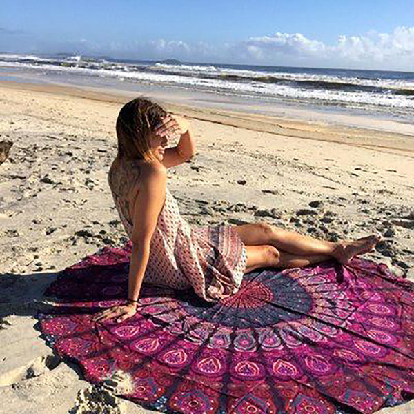 Chicloth Runaway U and I Beach Towel