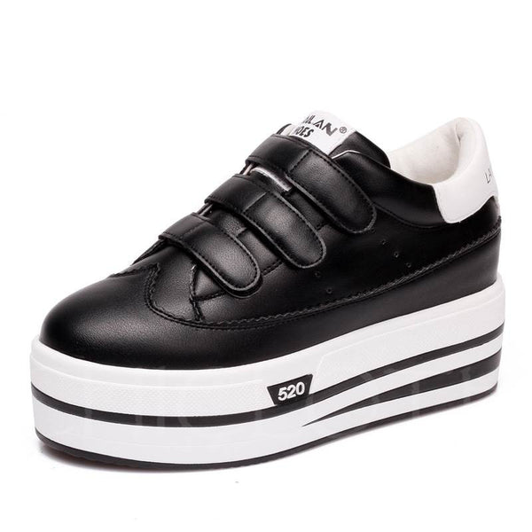 A| Chicloth Casual Velcro Summer Skateboard Shoes For Women-Chicloth