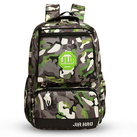 A| Chicloth Camouflage Pattern Large-Capacity Unisex Backpack