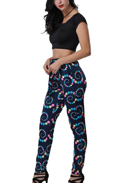 Africa Printed Crop Top Tie Waist Crop Top + Pants Suits