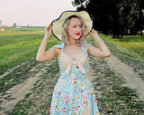 Chicloth The Show Halter Vintage Dress