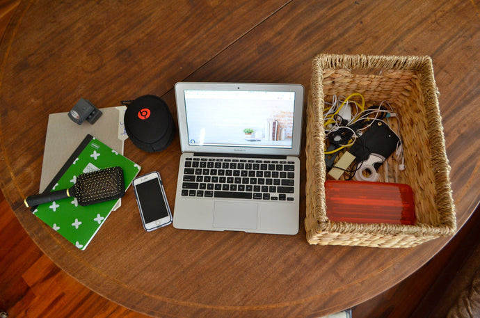 Mobile Desk: Staying Organized  When Your Dining Room Table Doubles as Your Desk