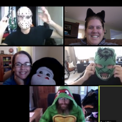Celebrating Halloween When Working Remotely