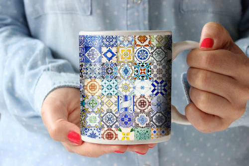 Coffee Mug Morocco Portugal Tile
