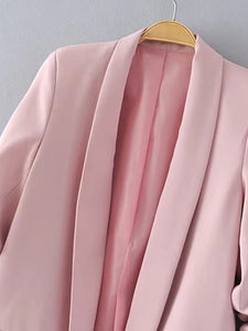 Shawl Collar Tailored Blazer