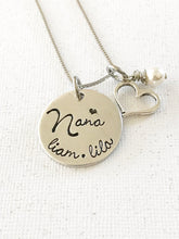 Load image into Gallery viewer, Mother's necklace - Grandmother's necklace - Name