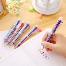 Load image into Gallery viewer, 6 Color Ballpoint Multifunction Pen