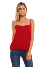 Load image into Gallery viewer, Women's Soft Elastic Waist Tank Top