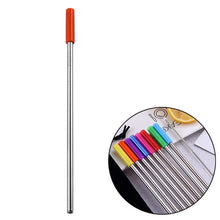 Load image into Gallery viewer, Stainless Steel Metal Drinking Straw