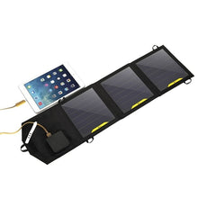 Load image into Gallery viewer, Solar Powered Charging Bank