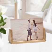 Load image into Gallery viewer, Wooden Photo Frame